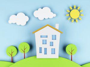 2_Garanzie paesaggio con casa stilizzato